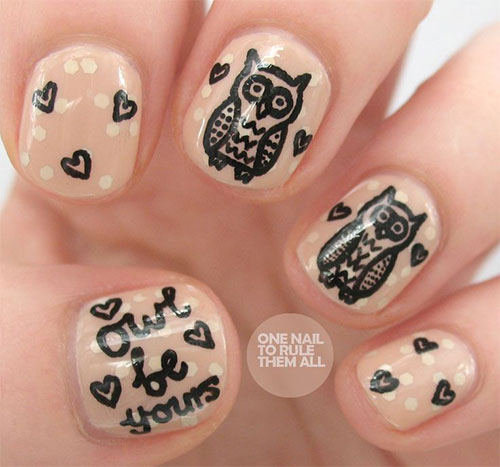15-Unique-Owl-Nail-Art-Designs-Ideas-Trends-Stickers-2014-1