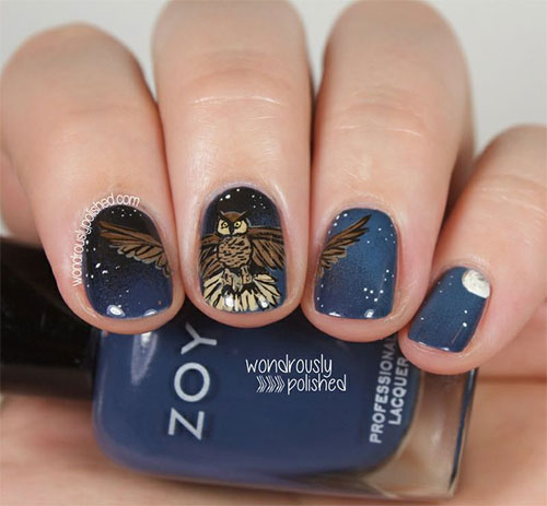 15-Unique-Owl-Nail-Art-Designs-Ideas-Trends-Stickers-2014-12