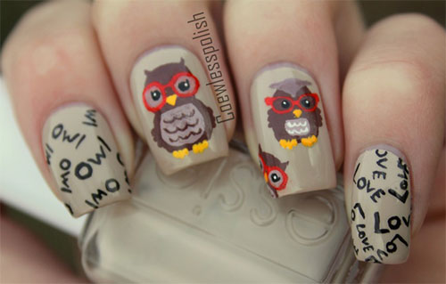 15-Unique-Owl-Nail-Art-Designs-Ideas-Trends-Stickers-2014-13