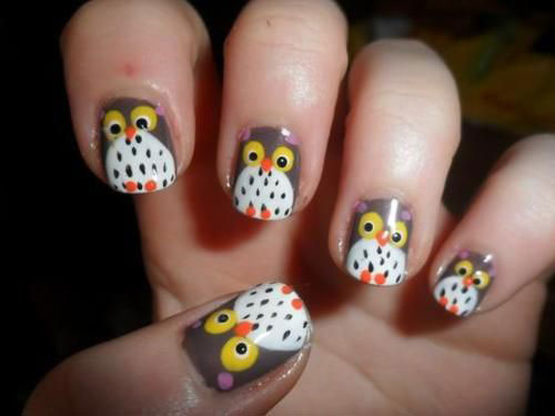 15-Unique-Owl-Nail-Art-Designs-Ideas-Trends-Stickers-2014-6