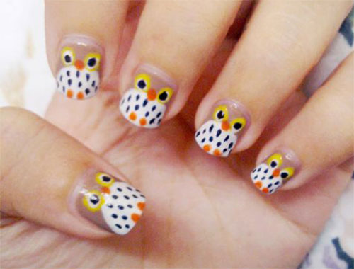 15-Unique-Owl-Nail-Art-Designs-Ideas-Trends-Stickers-2014-7