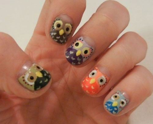 15-Unique-Owl-Nail-Art-Designs-Ideas-Trends-Stickers-2014-8