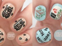 15-Unique-Owl-Nail-Art-Designs-Ideas-Trends-Stickers-2014