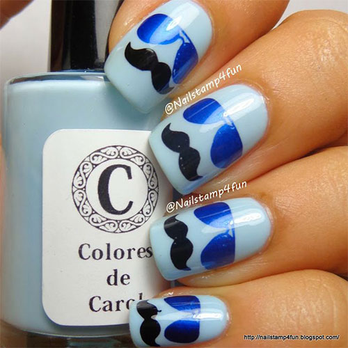 20-Cool-Mustache-Nail-Art-Designs-Ideas-Trends-Stickers-2014-13