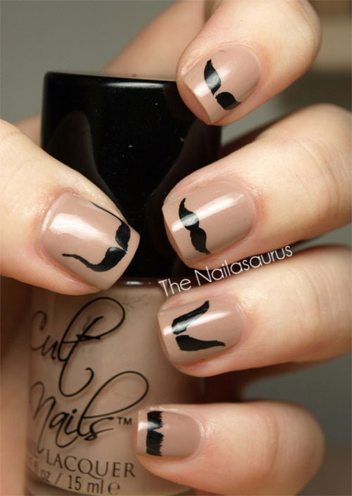 20-Cool-Mustache-Nail-Art-Designs-Ideas-Trends-Stickers-2014-14
