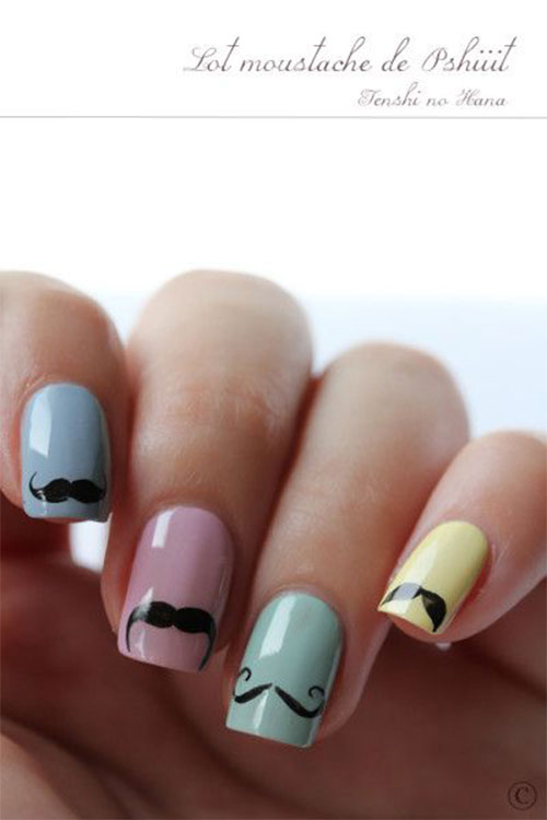 20-Cool-Mustache-Nail-Art-Designs-Ideas-Trends-Stickers-2014-17