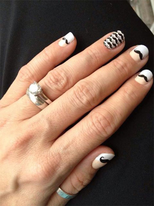 20-Cool-Mustache-Nail-Art-Designs-Ideas-Trends-Stickers-2014-18