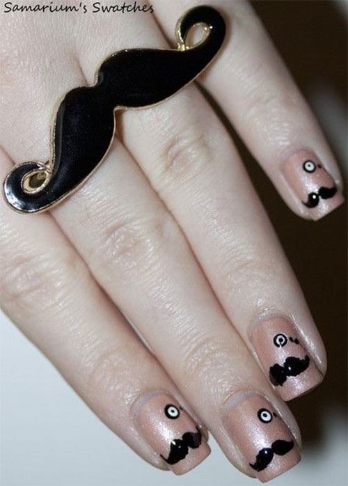 20-Cool-Mustache-Nail-Art-Designs-Ideas-Trends-Stickers-2014-19