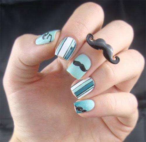 20-Cool-Mustache-Nail-Art-Designs-Ideas-Trends-Stickers-2014-3