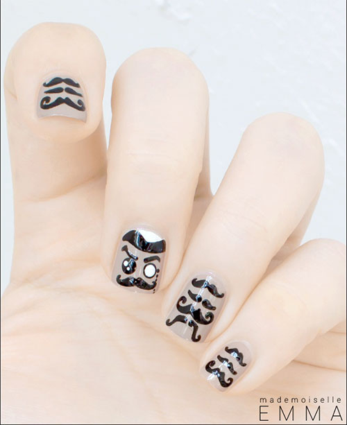 20-Cool-Mustache-Nail-Art-Designs-Ideas-Trends-Stickers-2014-5