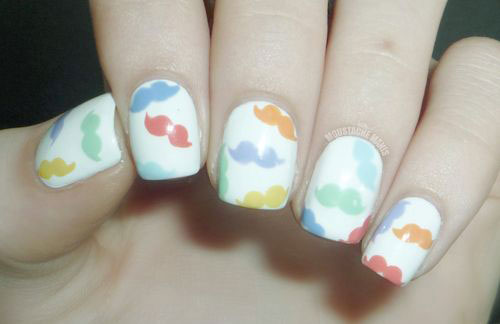 20-Cool-Mustache-Nail-Art-Designs-Ideas-Trends-Stickers-2014-7
