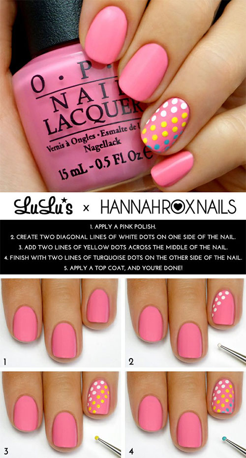 20-Simple-Step-By-Step-Polka-Dots-Nail-Art-Tutorials-For-Beginners-Learners-2014-10