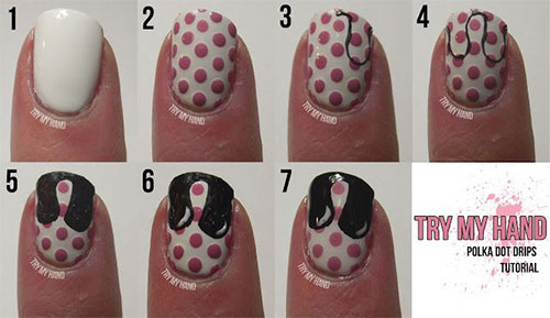 20-Simple-Step-By-Step-Polka-Dots-Nail-Art-Tutorials-For-Beginners-Learners-2014-18