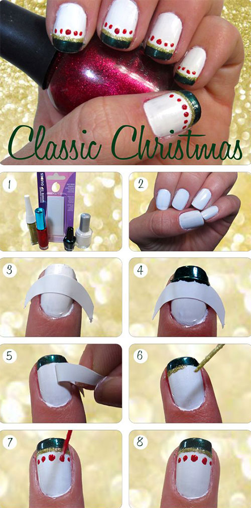 20-Simple-Step-By-Step-Polka-Dots-Nail-Art-Tutorials-For-Beginners-Learners-2014-3