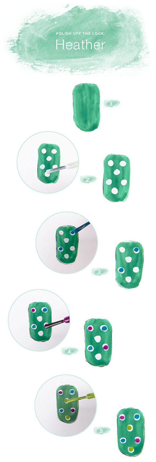 20-Simple-Step-By-Step-Polka-Dots-Nail-Art-Tutorials-For-Beginners-Learners-2014-7