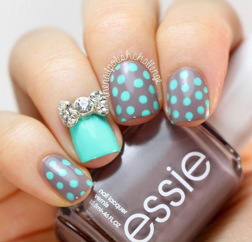 30-Polka-Dot-Nail-Art-Designs-Ideas-Trends-2014 -Polka-Dot-Nails-20