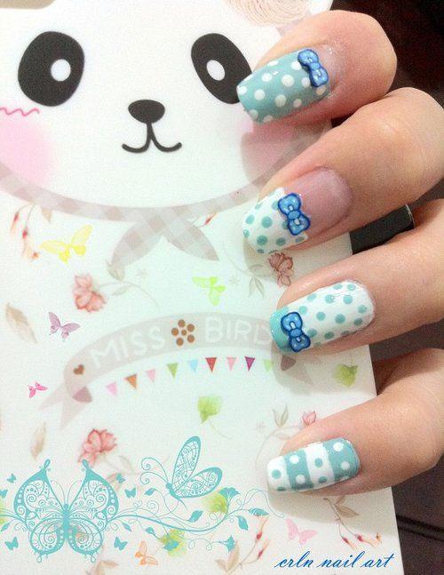 30-Polka-Dot-Nail-Art-Designs-Ideas-Trends-2014 -Polka-Dot-Nails-29