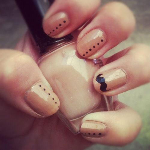 Cute-Easy-Moustache-Nail-Art-Designs-Ideas-Trends-2014-1