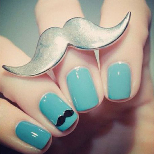 Cute-Easy-Moustache-Nail-Art-Designs-Ideas-Trends-2014-7