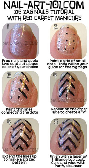Easy-Simple-Step-By-Step-Gel-Nail-Art-Tutorials-For-Beginners-Learners