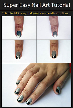 Easy Simple Step By Step Gel Nail Art Tutorials For Beginners