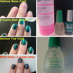 Easy Simple Step By Step Gel Nail Art