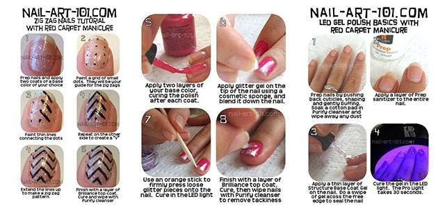 Easy-Simple-Step-By-Step-Gel-Nail-Art-Tutorials-For-Beginners-Learners-2014