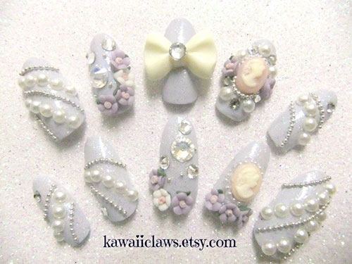10-Inspiring-3D-Wedding-Nail-Art-Designs-Ideas-Trends-Stickers-3d-Nails-9