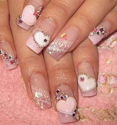 12-Amazing-3D-Heart-Nail-Art-Designs-Ideas-Trends-Stickers-3d-Nails-5