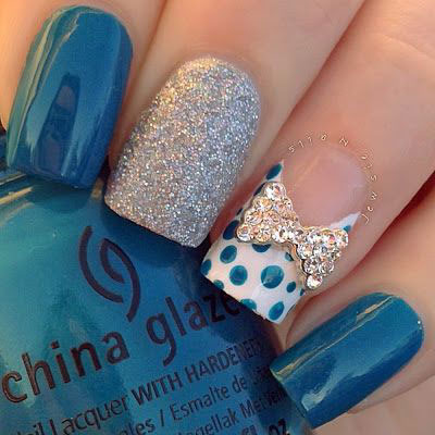 12 simple 3d nail art designs ideas trends stickers 3d nails 12 simple 3d nail art designs ideas trends prinsesfo Images