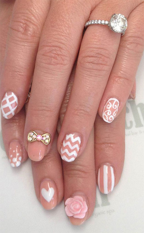 12 stylish 3d bows nail art designs ideas trends stickers 12 stylish 3d bows nail art designs ideas prinsesfo Images