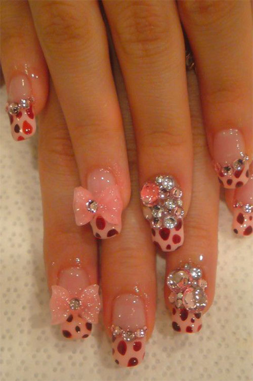 12-Stylish-3D-Bows-Nail-Art-Designs-Ideas-Trends-Stickers-3d-Nails-5
