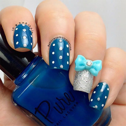 Nail art bow stickers best nails 2018 12 stylish bows nail art designs ideas trends stickers prinsesfo Image collections