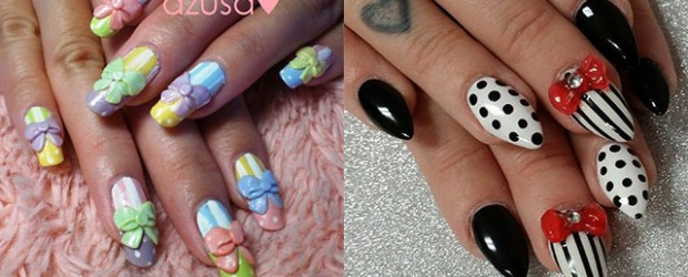 Fabulous nail art designs decor your nails part 48 12 stylish 3d bows nail art designs ideas trends stickers 3d nails prinsesfo Image collections
