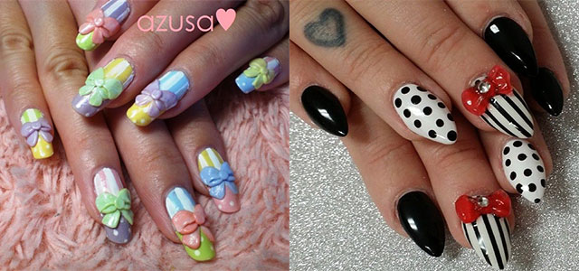 12 stylish 3d bows nail art designs ideas trends stickers 12 stylish 3d bows nail art designs ideas trends stickers 3d nails fabulous nail art designs prinsesfo Images