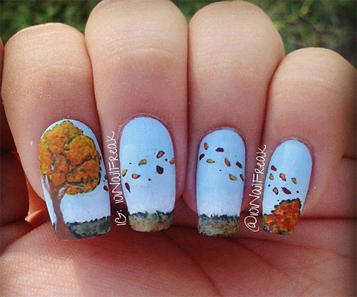 15-Amazing-Fall-Autumn-Nail-Art-Designs-Ideas-Trends-Stickers-2014-17