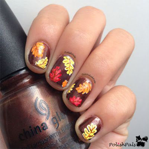 15 Amazing Fall Autumn Nail Art Designs Ideas Trends