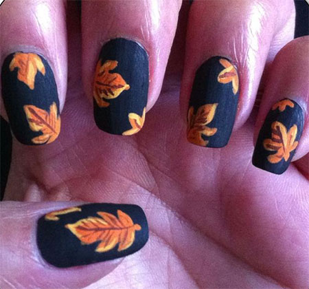 15-Best-Autumn-Leaf-Nail-Art-Designs-Ideas-Trends-Stickers-2014-Fall-Nails-10