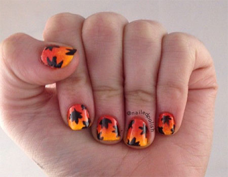 15-Best-Autumn-Leaf-Nail-Art-Designs-Ideas-Trends-Stickers-2014-Fall-Nails-16