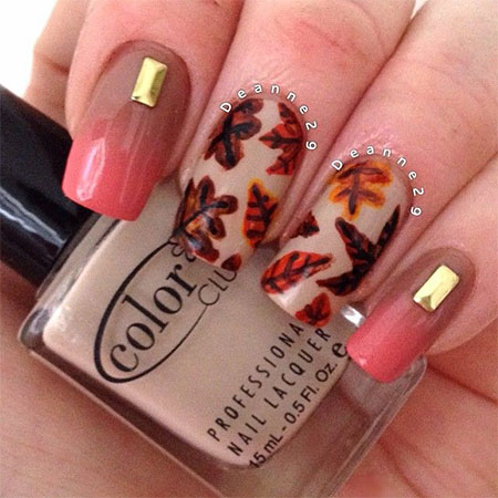 nail designs for fall 2014. 15-best-autumn-leaf-nail-art-designs-ideas- nail designs for fall 2014 fabulous art