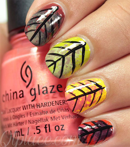 15-Best-Autumn-Leaf-Nail-Art-Designs-Ideas-Trends-Stickers-2014-Fall-Nails-8