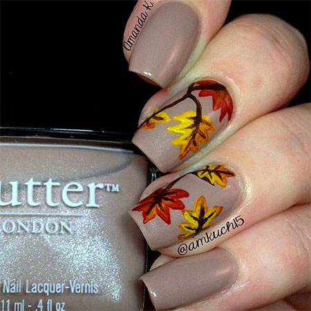 15-Best-Autumn-Leaf-Nail-Art-Designs-Ideas-Trends-Stickers-2014-Fall-Nails-9