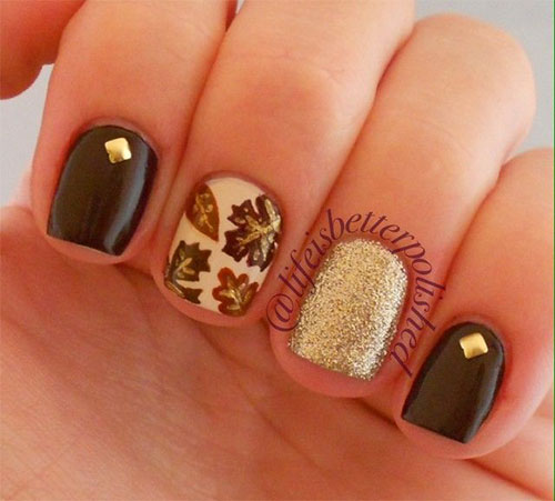 Gel nail designs for fall best nails 2018 15 cute easy fall nail art designs ideas trends stickers prinsesfo Gallery