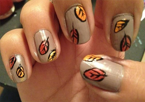 15-Cute-Easy-Fall-Nail-Art-Designs-Ideas-Trends-Stickers-2014-Autumn-Nails-16