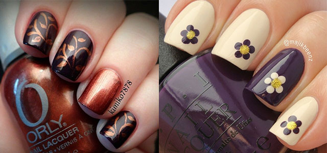 nail designs for fall 2014. 15 + cute \u0026 easy fall nail art designs, ideas, trends stickers 2014 | autumn nails fabulous designs for
