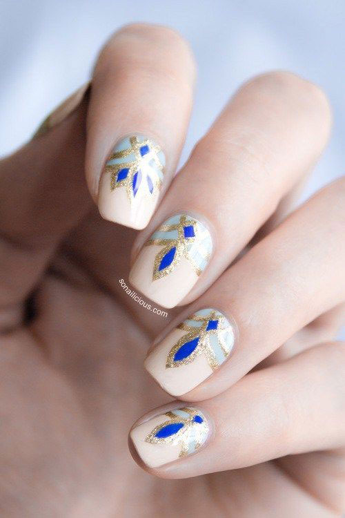 15-Easy-Pretty-Nail-Art-Designs-Ideas-Trends-Stickers-2014-8
