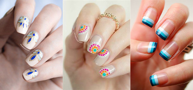 15 Easy Pretty Nail Art Designs, Ideas, Trends & Stickers 2014 | Fabulous Nail  Art Designs - 15 Easy Pretty Nail Art Designs, Ideas, Trends & Stickers 2014