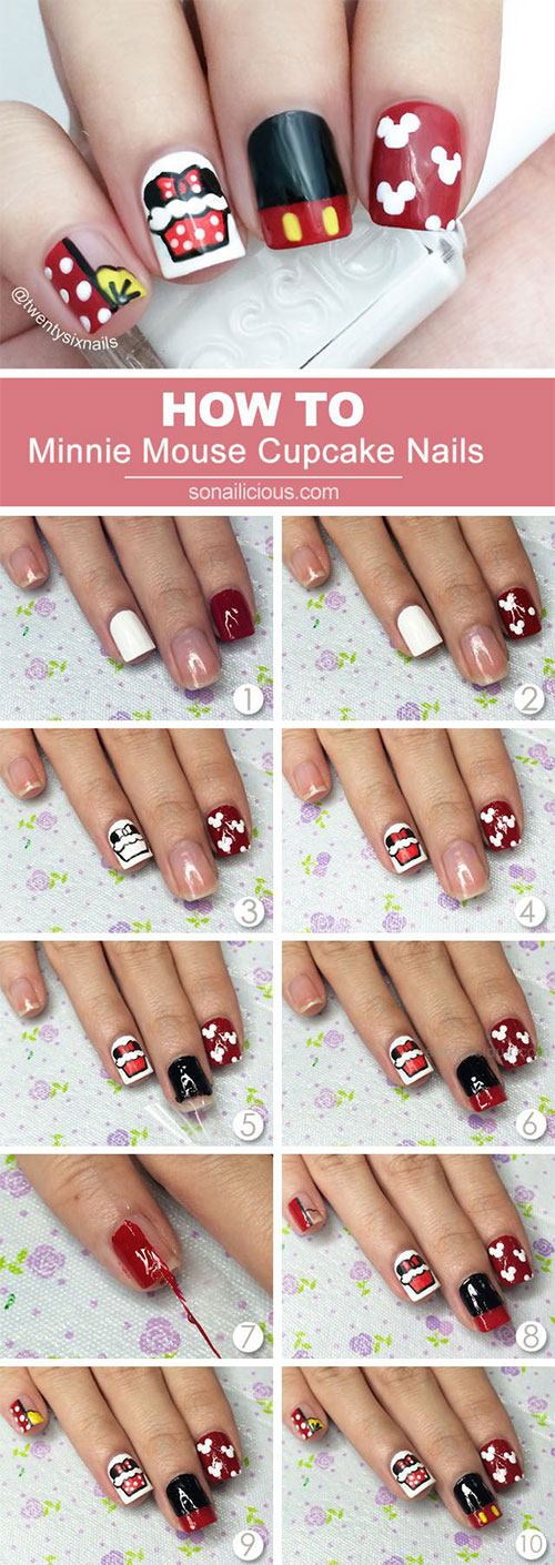 15-Easy-Step-By-Step-New-Nail-Art-Tutorials-For-Beginners-Learners-2014-1