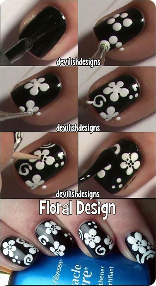 15-Easy-Step-By-Step-New-Nail-Art-Tutorials-For-Beginners-Learners-2014-11