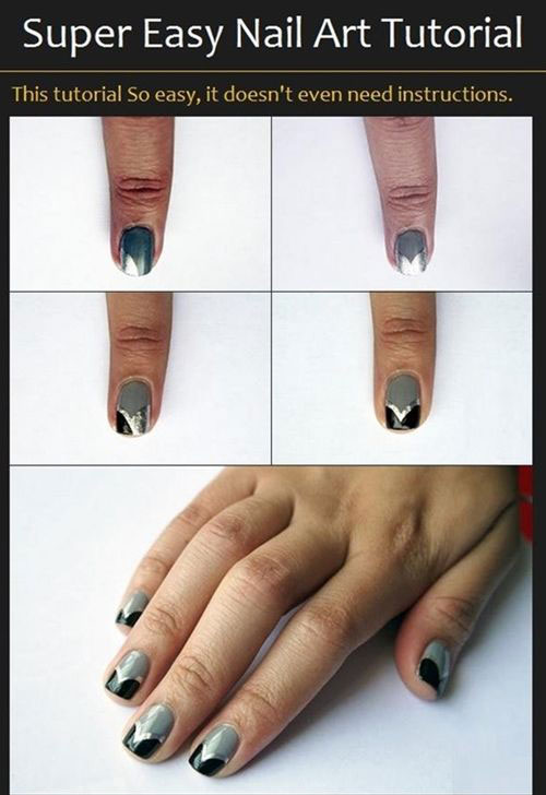 15-Easy-Step-By-Step-New-Nail-Art-Tutorials-For-Beginners-Learners-2014-13